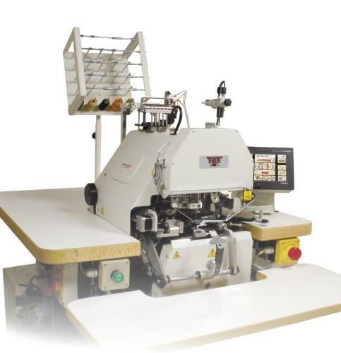 EBS Mark II - Electronic Button Sewing and Wrapping Machine